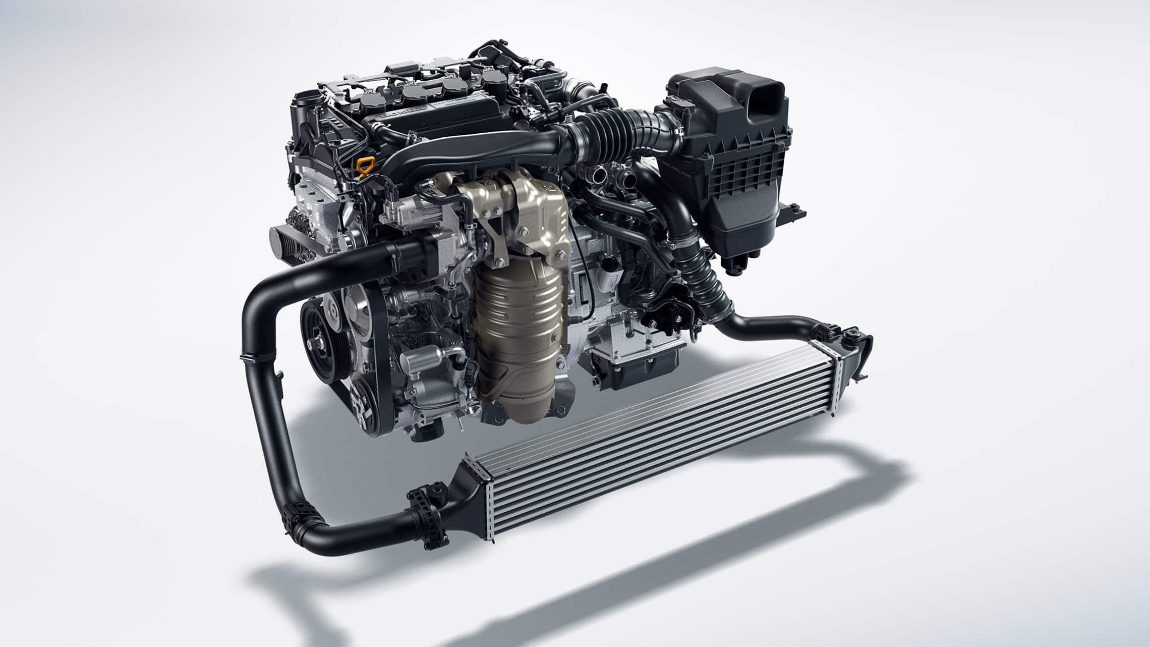 Motor turboalimentado de 4 cilindros y 1.5 litros con intercooler para el Honda Civic Touring Sedán2020.